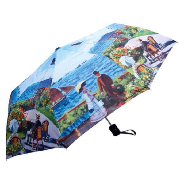 Набор «Моне. Сад в Сент-Андрес»: платок, складной зонт