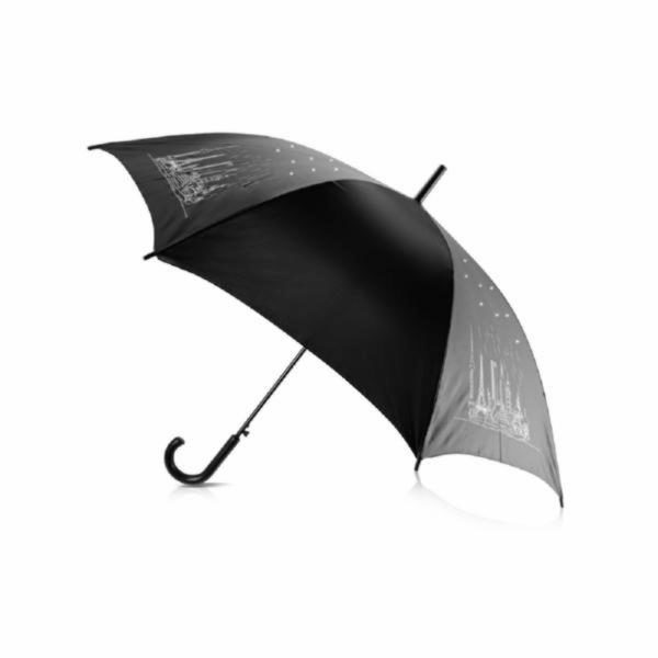 Зонт-трость «8 чудес света»