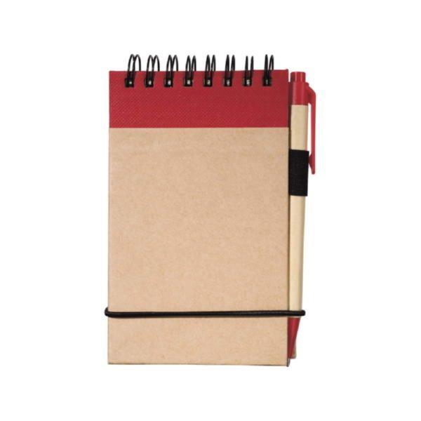 Блокнот А7 «Zuse» с ручкой