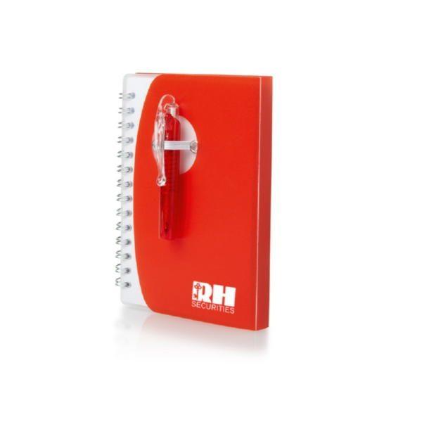 Блокнот А7 «Tribune» с ручкой