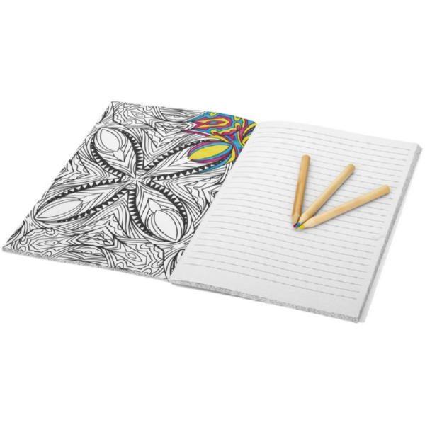 Блокнот А5 «Doodle Colour Therapy»