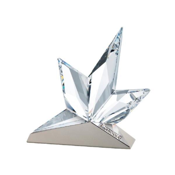 Восходящая звезда на металле, малая