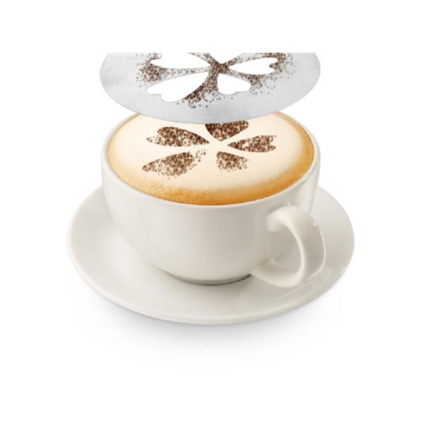 Набор трафаретов для кофе