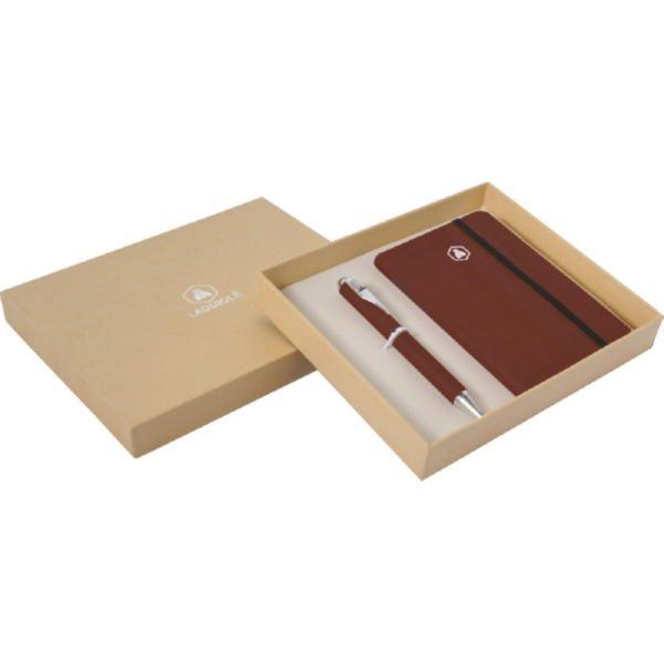 Подарочный набор «Larbey»: записная книжка А6, ручка шариковая