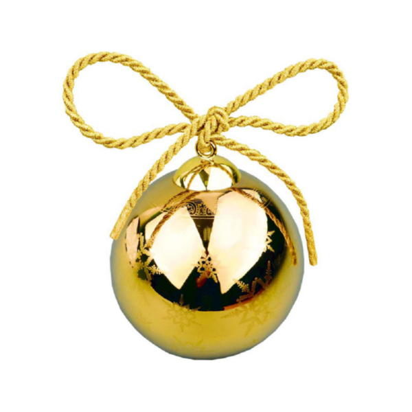 Рождественский шарик «Gold»