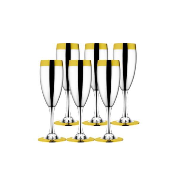 Набор бокалов для шампанского «Ла Перле»