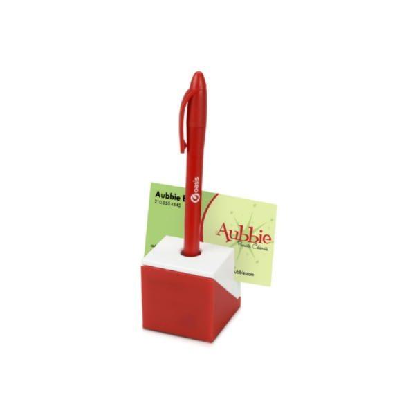 Подставка для визиток, ручки и скрепок «Куб»