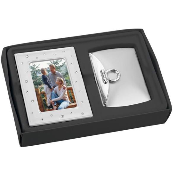 Подарочный набор: рамка для фотографии, зеркало