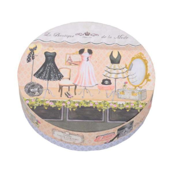 Набор  десертных тарелок «Высокая мода»