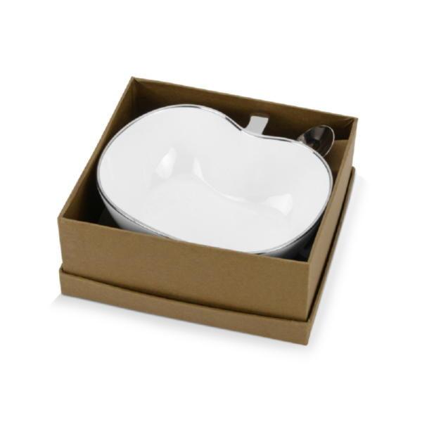 Чаша с ложкой «Яблочко наливное»
