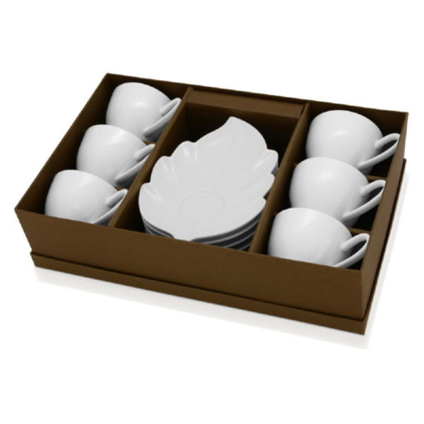 Набор: 6 чашек с блюдцами «Осенний»