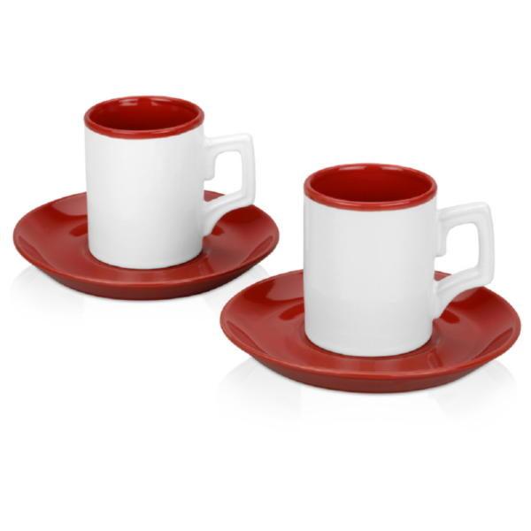Набор «Дуо»: 2 чашки с блюдцами