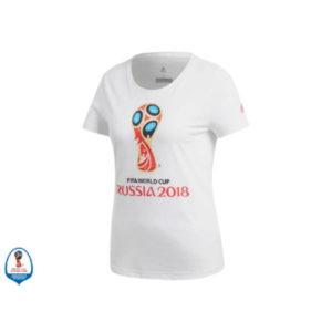 Футболка женская EMBLEM 2018 FIFA World Cup Russia™