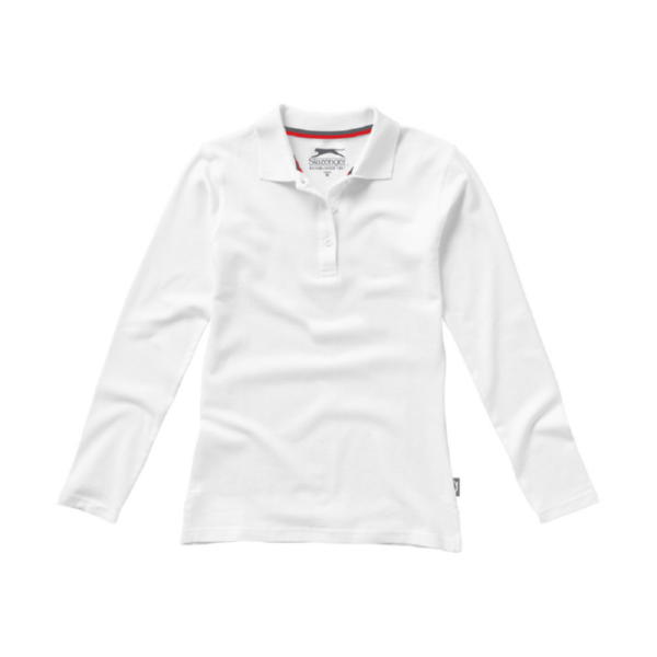 """Рубашка поло """"Point"""" женская с длинным рукавом"""