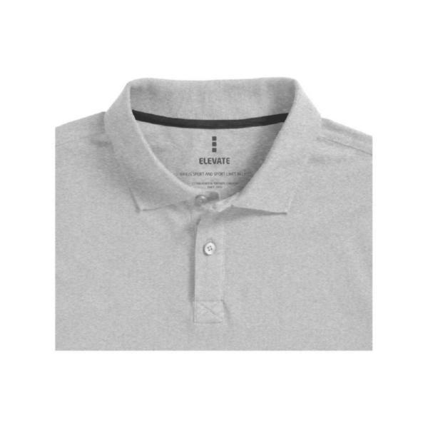 """Рубашка поло """"Oakville"""" мужская с длинным рукавом"""